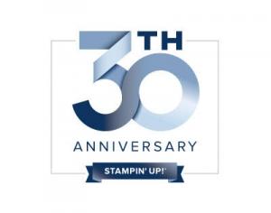Stampin' Up! 30th Anniversary Logo