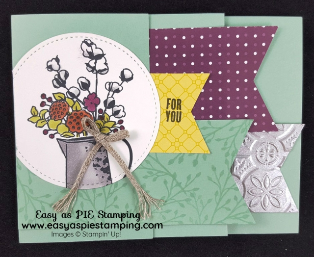 Country Lane Banners Fun Fold Card