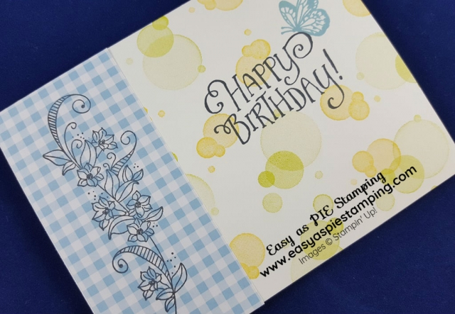 Simple Stamping Birthday Card
