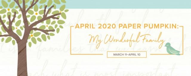 April 2020 Paper Pumpkin Alternative Projects