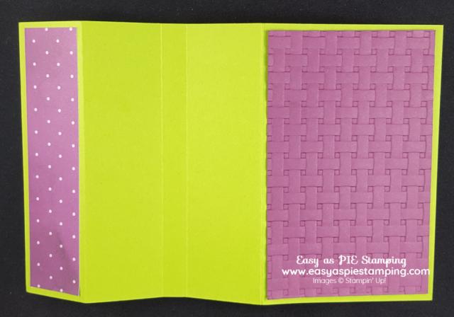 Timeless Tulips Fun Fold Card